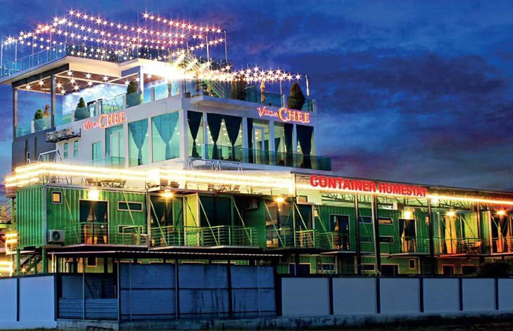 Sekinchan - Villa Chee Container Homestay