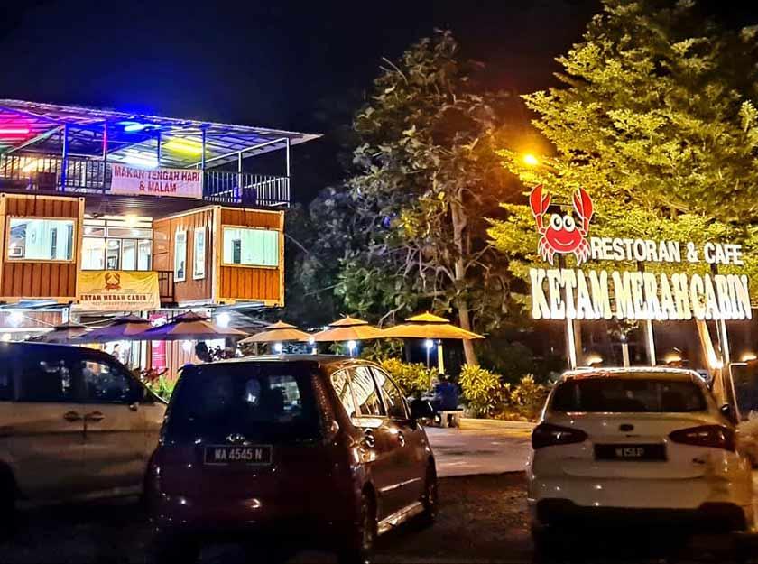 Restoran And Cafe Ketam Merah Cabin