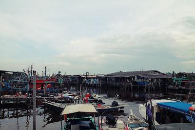 Fishing Village  Sekinchan